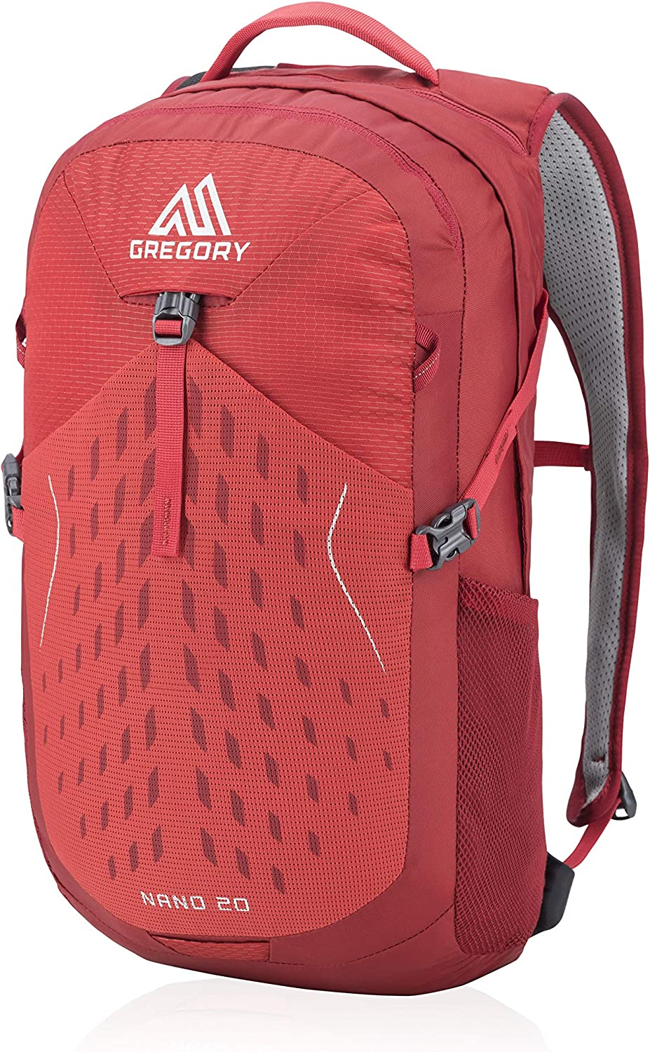 Gregory Mountain Products Nano 20 Liter Daypack, Fiery Red, One Size