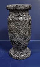 Granite Monument Gravestone Headstone Tombstone Memorial Vase - Bahama Blue 12
