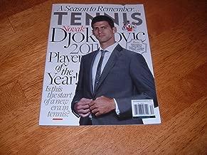 Tennis Magazine, November/December 2011-Novak Djokovic-Player of the Year