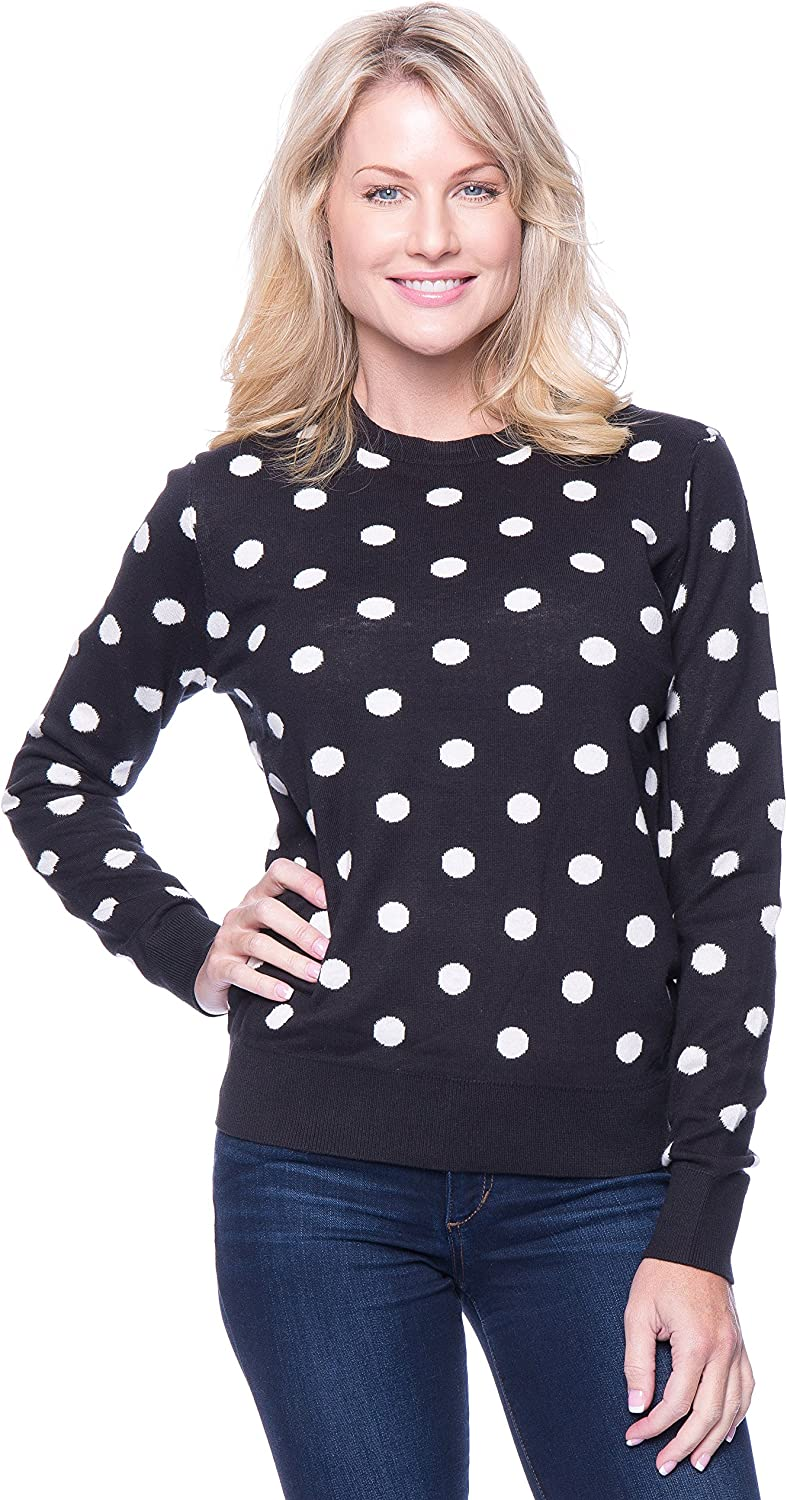 Excellence Noble Mount Tocco Reale Sweaters for Cotton Crew Las Vegas Mall Ne Women - 100%