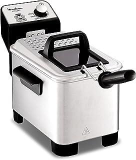comprar comparacion Moulinex Easy Pro AM338070 - Freidora 2300 W de 3 litros con cuba extraíble de acero inoxidable apta para lavavajillas, co...