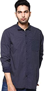 EASY 2 WEAR ® Men's Print Shirts Plus Size-Full Sleeves (S to 5XL) Comfort/Regular Fit Shirts