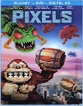 Pixels: Limited Edition Exclusive Lenticular Cover (Donkey Kong) [Blu-Ray]