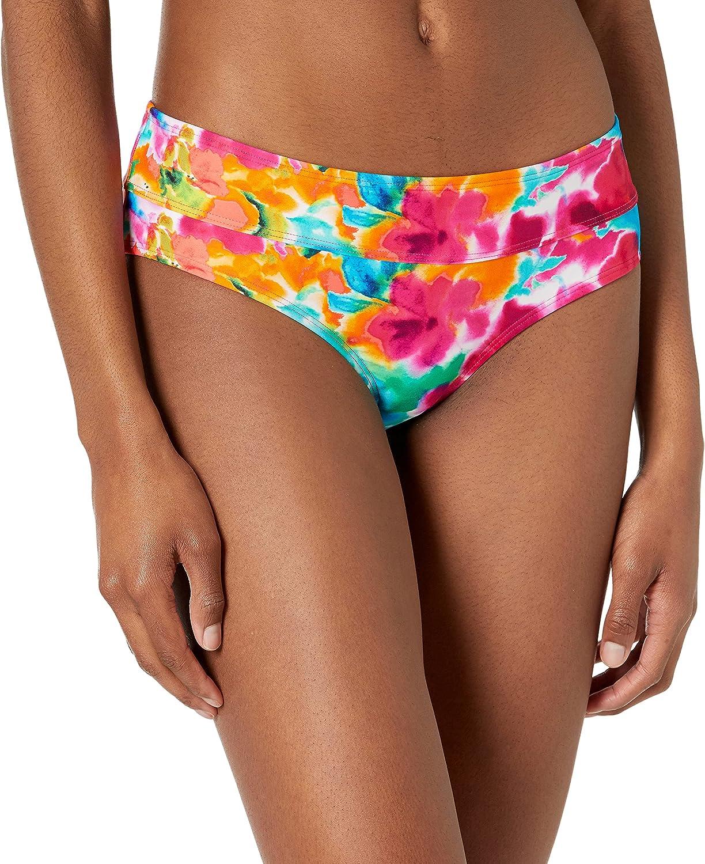 Body Glove Women's Standard Hazel Mid Coverage Bikini Bottom Swimsuit