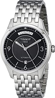 Men's T0384301105700 T-One Day-Date Calendar Watch