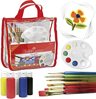 Best Faber-Castell Young Artist Learn To Paint Set - Washable Paint Set For Kids Review