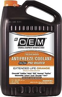 OEM 86-384OOEMGM Premium Antifreeze 50/50 Extended Life Orange, 128. Fluid_Ounces