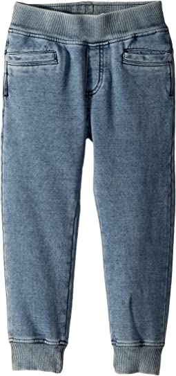 Little Marc Jacobs - Snow Wash Effect Trousers (Toddler/Little Kids)