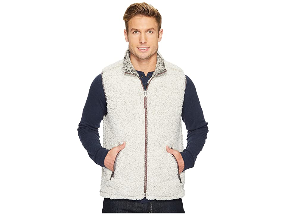 True Grit Frosty Tipped Pile Double Up Vest (Putty) Men