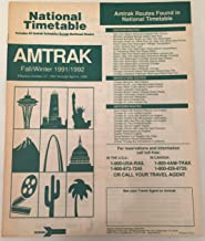 amtrak national timetable