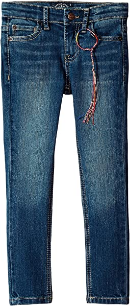 Lucky Brand Kids Zoe Five-Pocket Skinny Jeans in Ada Wash (Big Kids)