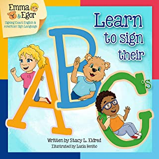 Emma and Egor Learn to Sign Their ABC's