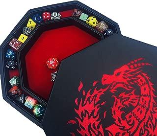Fantasydice- RED - Fire Dragon - Dice Tray - 8