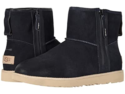 UGG Classic Mini Zip Waterproof (True Navy) Men
