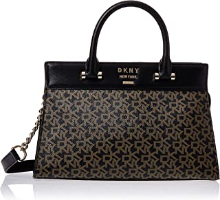 DKNY Women's Satchel, Ebony/Black - R93DJD67