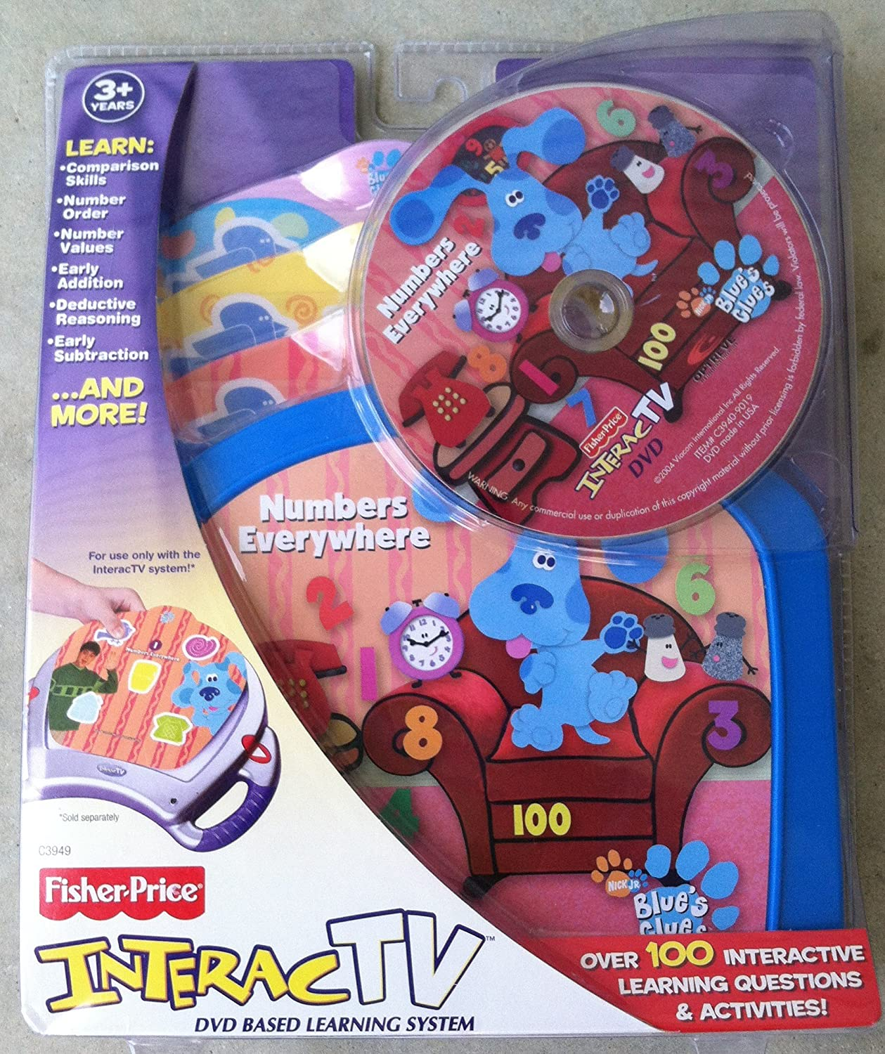 All items Popular products free shipping Interact TV DVD Blues Everywhere Clues Numbers