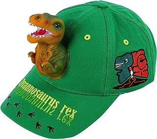 قبعات الشمس للأولاد 3D تي-ريكس ديناصور قبعات البيسبول القطن مضحك Snapback قبعات عيد ميلاد مجنونة للأولاد والأطفال الأخضر