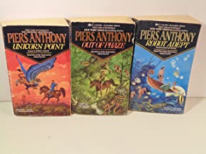 Piers Anthony - Apprentice Adept Series #4 (Out of Phase), #5(Robot Adept),#6(Unicorn Point)
