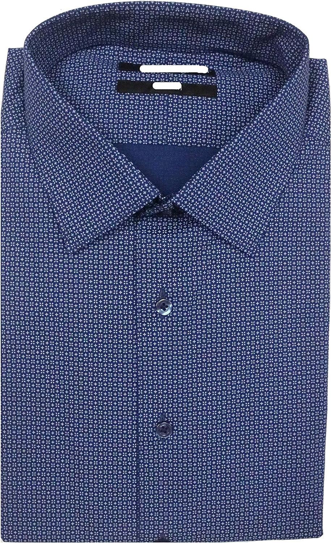 期間限定特価品 Murano Slim Fit Spred Collar Stretch 直営ストア S95DM010 Floral Dress Shirt