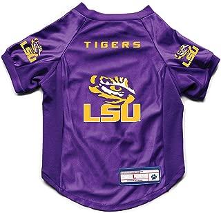 Littlearth NCAA LSU Tigers Pet Stretch Jersey, Small
