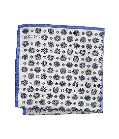 Eton Four Square Silk Pocket Square