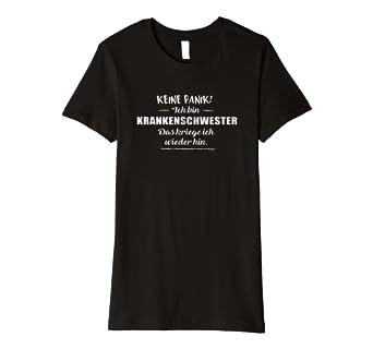 Damen Krankenschwester T Shirt Lustige Spruche Krankenhaus Amazon