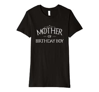 Damen Mutter Geburtstag Jungen Shirt Birthday Boy Mom Geschenk
