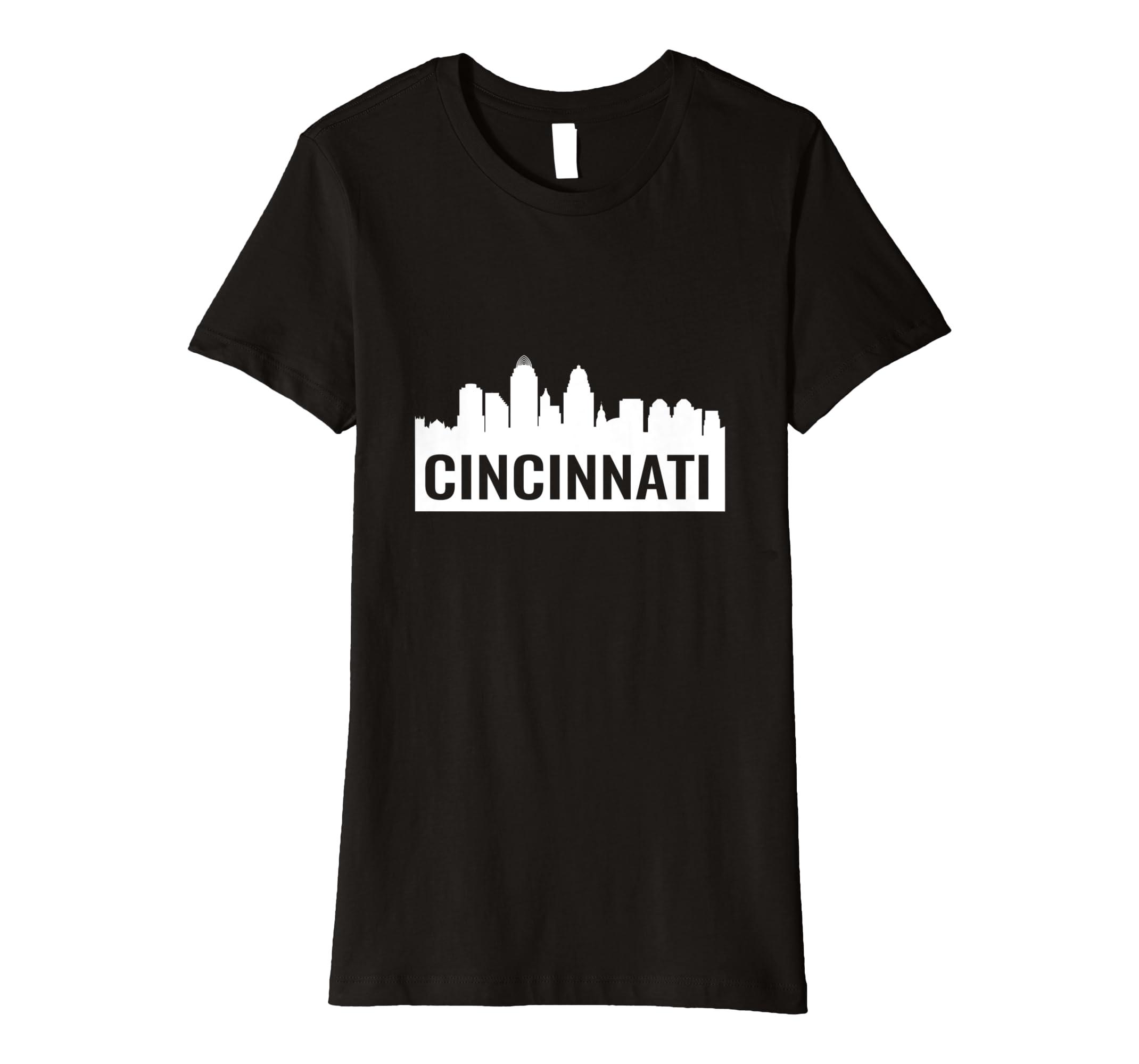 5130483e4 Amazon.com: Cincinnati Skyline T-Shirt: Clothing