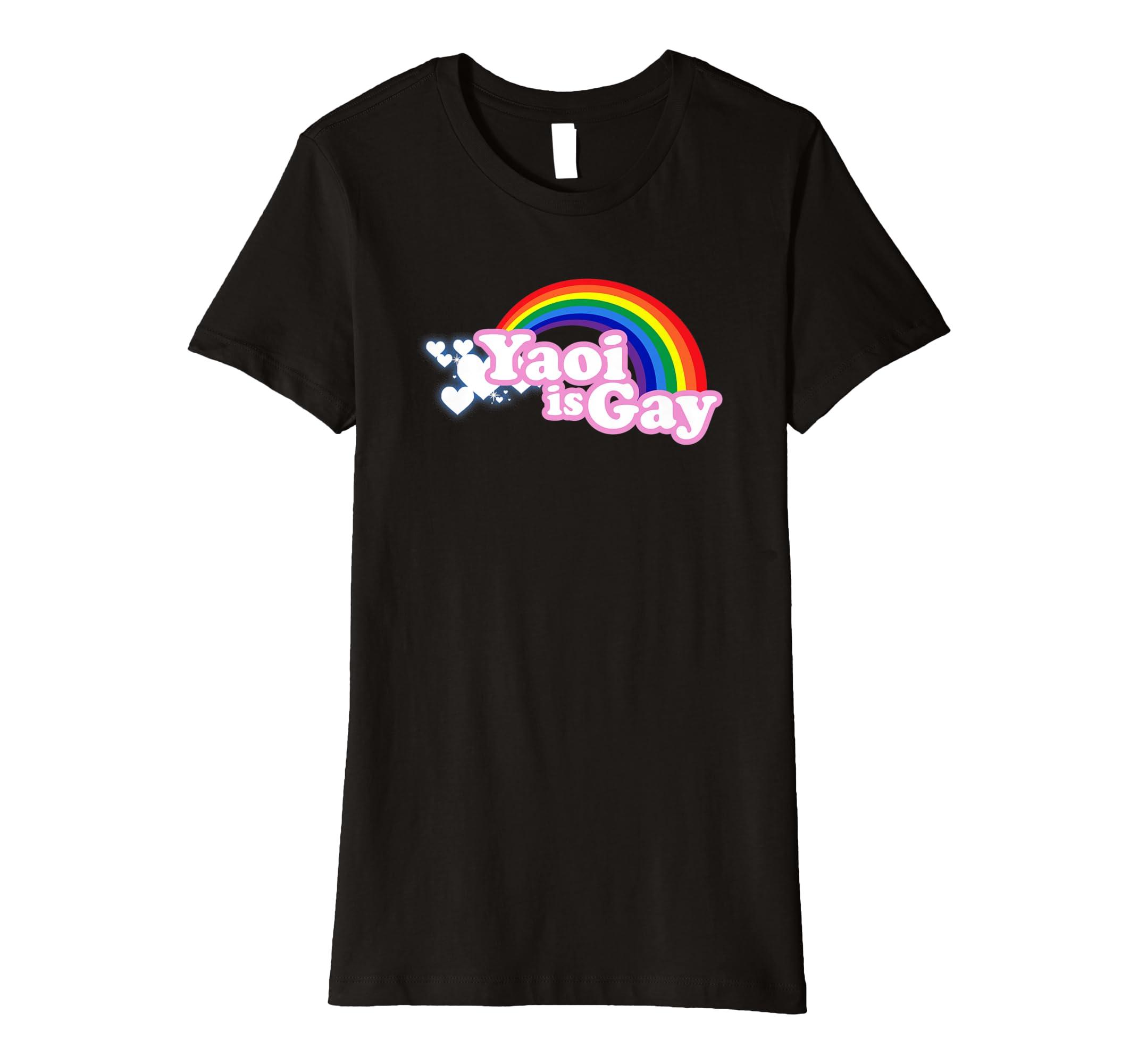 be440337d Amazon.com: merimeaux: Yaoi is Gay T-shirt: Clothing