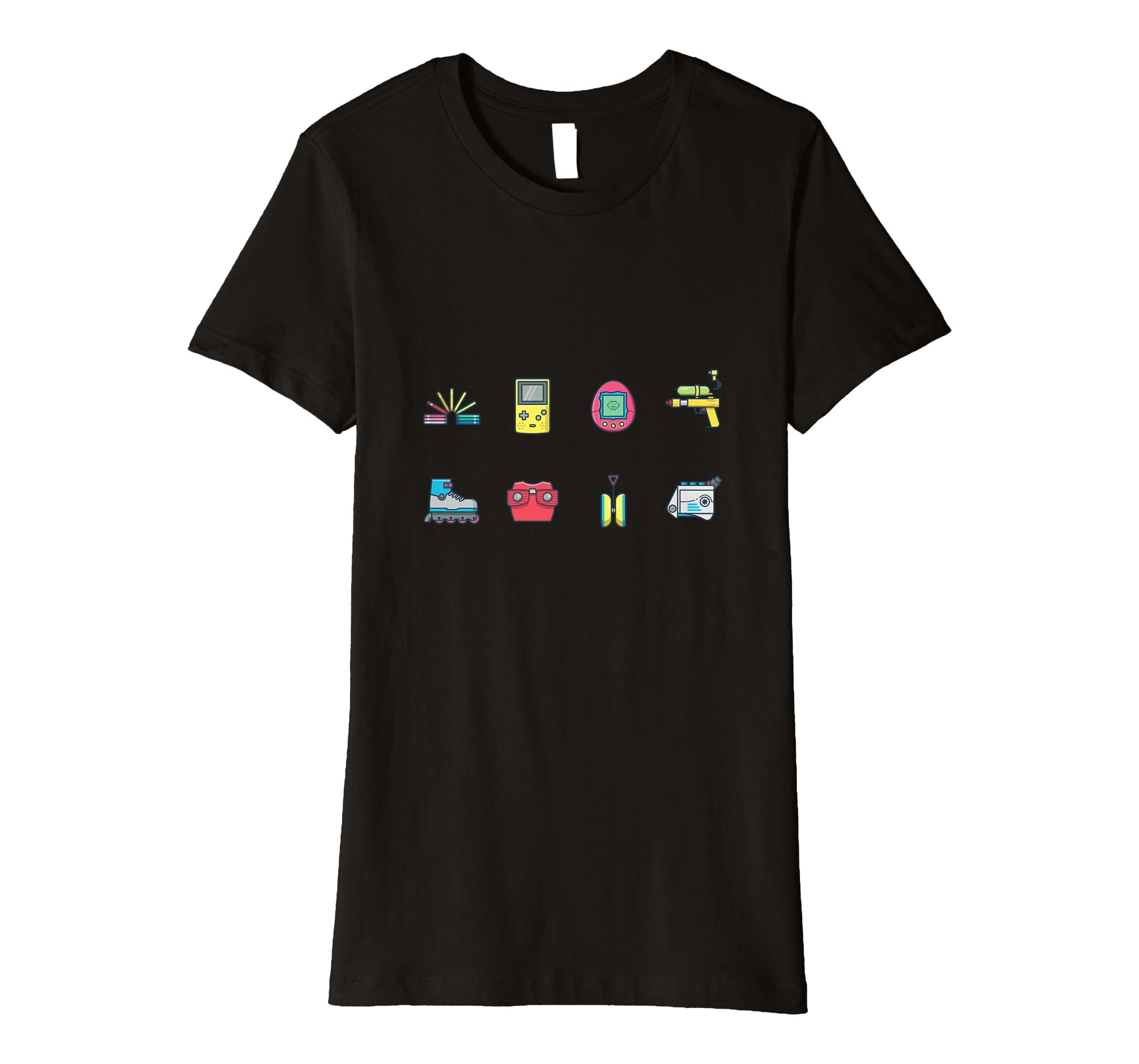 Amazon com: Nostalgia of Retro Games from Childhood T-shirt