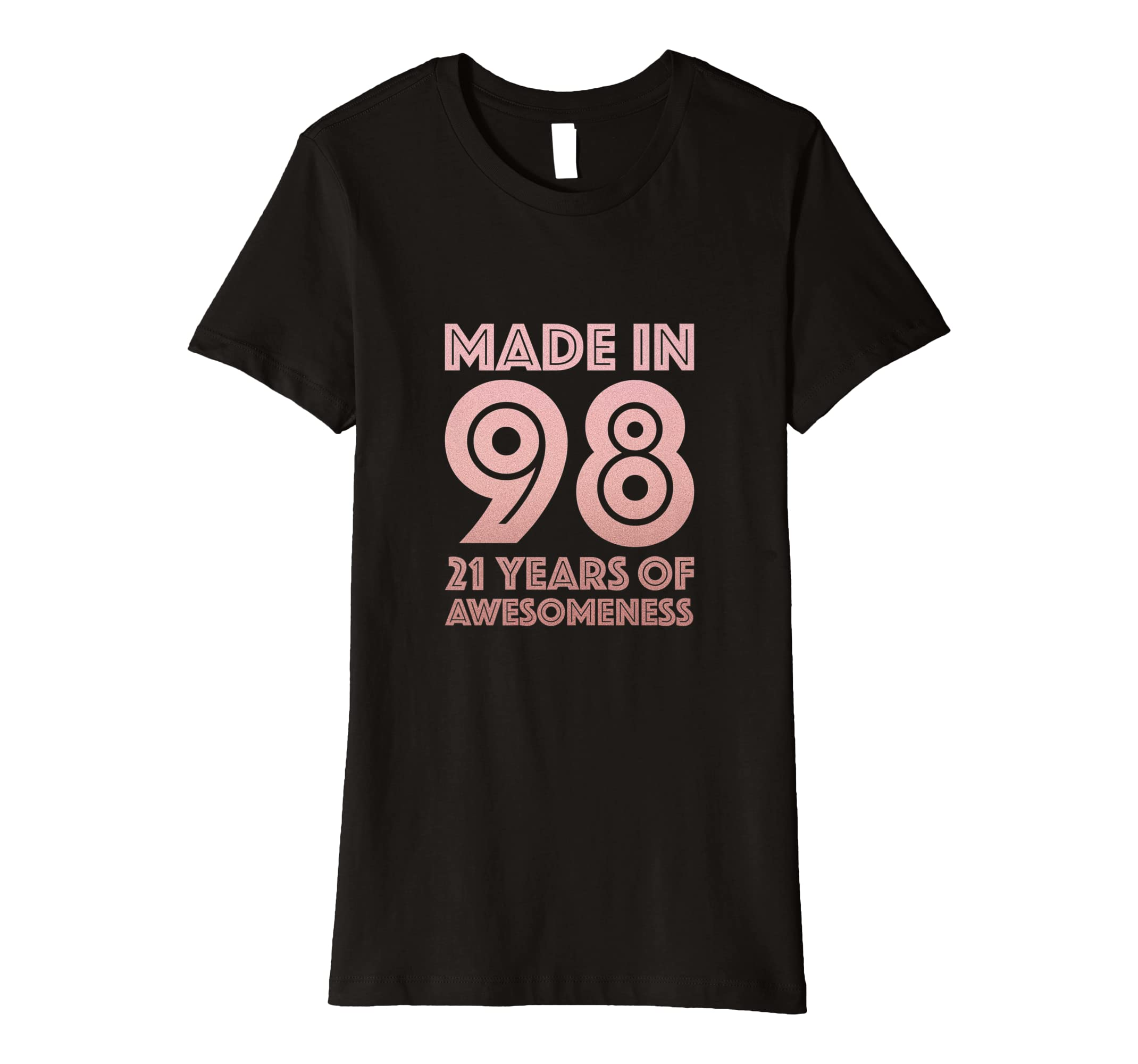 Amazon 21st Birthday Shirt Age 21 Year Old Girl Gift Niece Daughter Clothing