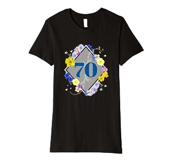 Damen Oma Geschenk Für 70 Geburtstag T Shirt Für