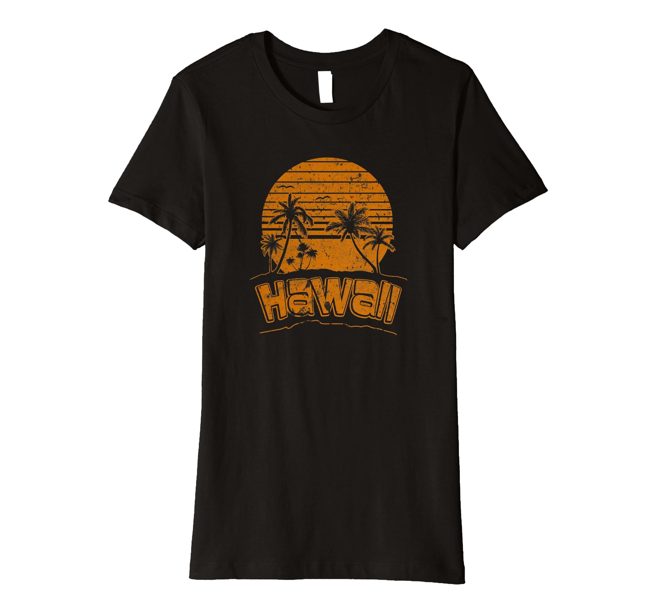 9e68696e Amazon.com: Hawaiian Island Beach Paradise T-Shirt Hawaii Paradise Tee:  Clothing