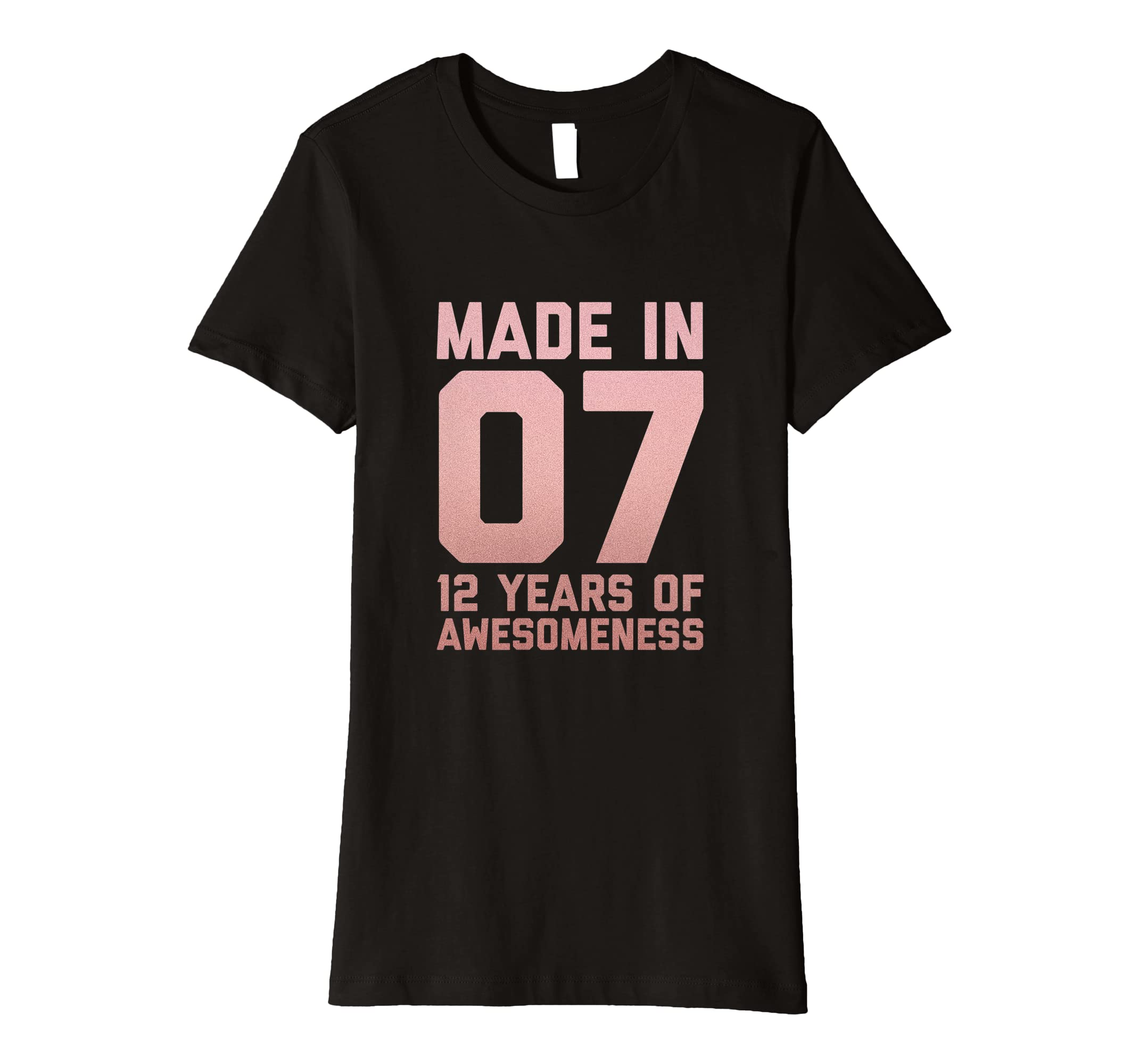 Amazon 12th Birthday Shirt Girls Gift Twelve 12 Year Old Daughter Clothing