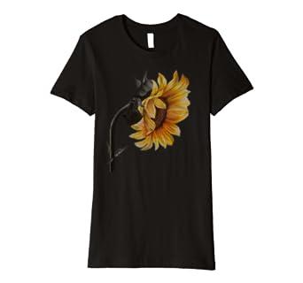 Sunflower Original Art T-Shirt for Women, Girls, & Kids