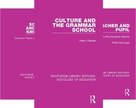 Routledge Library Editions: Sociology of Education (50 Book Series)