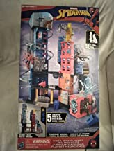 Marvel Spider-Man Mega City Playset 5 Levels Of Play 46 Inches Tall 20+ Features And Accessories, Swinging Zipline, Spinning Crane Ages (Figures Not Included) 4+ New In Unopened Box