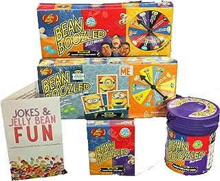 Jelly Belly Bean Boozled 4 Pc Practical Joke Kids Gift Set - Includes Bonus Mini Joke and Jelly Bean Brochure - Ready to Give!