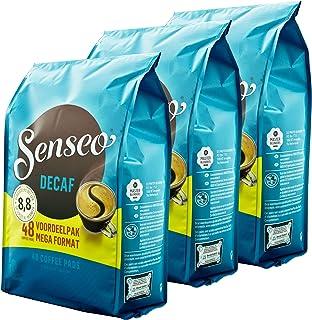 Senseo Coffee Pads Decaf, Decaffeinated Kingdom, Aroma, Intensive & Balanced, for Coffee Pads Kaffepadmaschinen - 144
