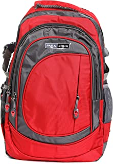 حقيبة ظهر PARAJOHN للمدرسة، حقيبة ظهر للكبار للجنسين