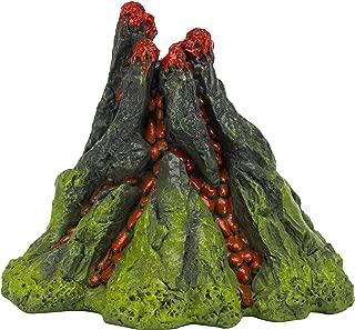 Penn Plax Nemo 5 Inch Aerating Volcano Resin Aquarium Ornament
