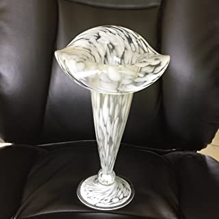 NA Tall Art Glass Jack in The Pulpit Vase