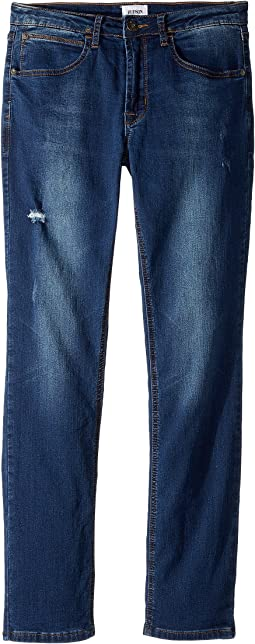 Jude Slim Leg Fit - Knit Denim in Filly (Big Kids)