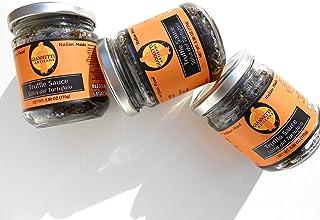 Giannetti Artisans Italian Black Truffle Sauce Hunted in Tuscany, Italy 7 oz jar - Imported