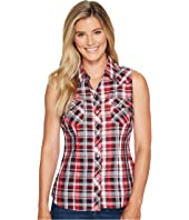 Roper - 1038 Black, Red and White Plaid