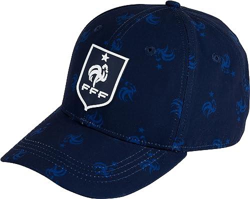 Equipe de FRANCE de football Casquette FFF - Collection Officielle Taille réglable Adulte