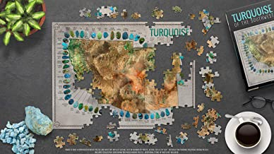 Turquoise of The Southwest Map Puzzle