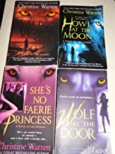 Christine Warren (4 World of the Others Books)Wolf at Door,She's no Princess,Walk Wild Side,Howl At the Moon