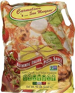 Carmelina 'e San Marzano Authentic Italian Sauce, Pizza, 91 Ounce (Pack of 3)