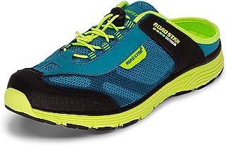 LEKANN 309 Sabots - Zapatillas deportivas para hombre (tallas 41-46), color Azul, talla 43 EU